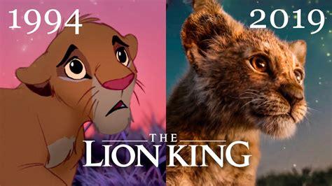 lion king  trailer  comparison    el