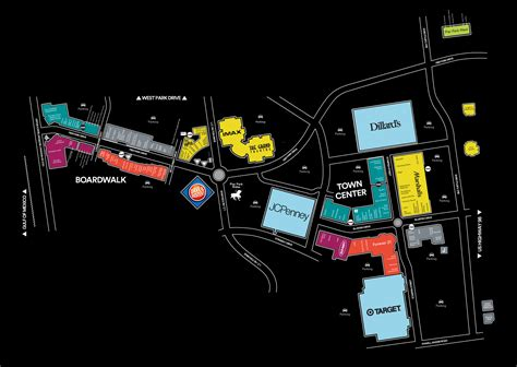 park city mall map mall map of pier park a simon mall panama city fl