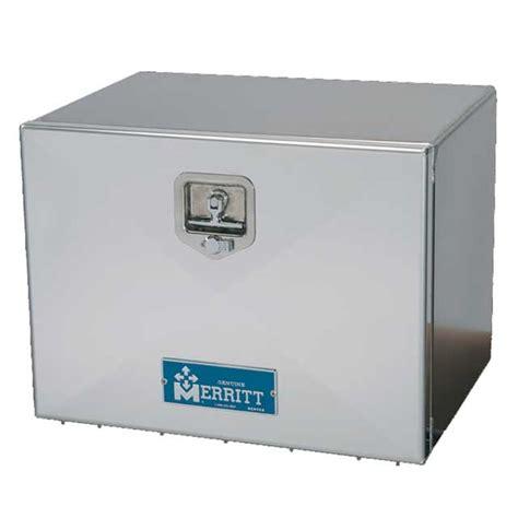 aluminum tool box semi trailer storage smooth aluminum single door box