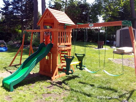 backyard discovery sonora cedar wood swing set playset assembler and swing set installer in coventry ri