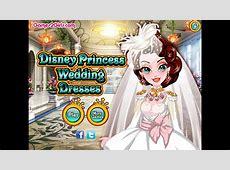 Disney Princess Wedding Dresses- Fun Online Dress Up ... Kids Games For Girls Disney Free Online