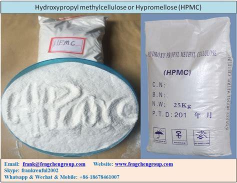 Fabricantes Y Proveedores De Hidroxipropil Metilcelulosa O