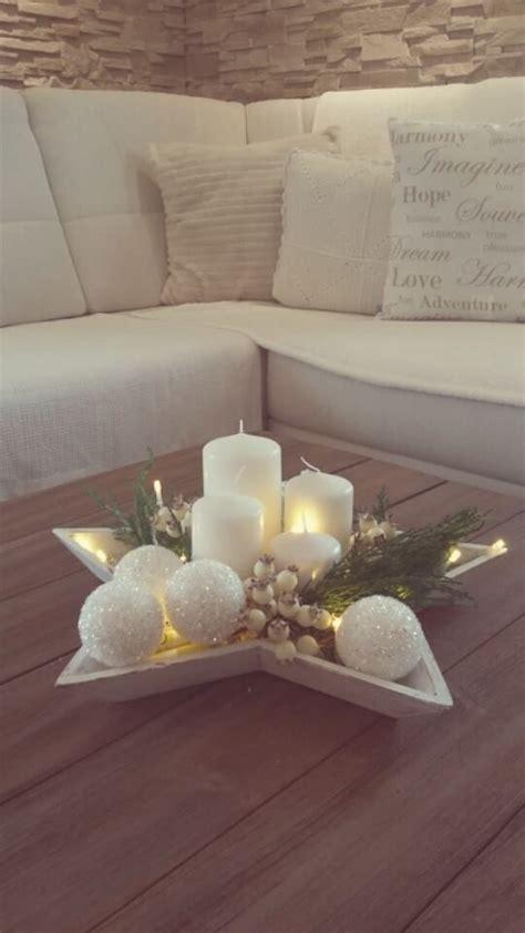einfache weihnachtstisch dekorationen die besten 25 weihnachtsdekoration ideen auf