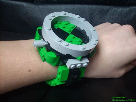 How To Make Paper Omnitrix - lego omnitrix prototype by matanui2001 on deviantart