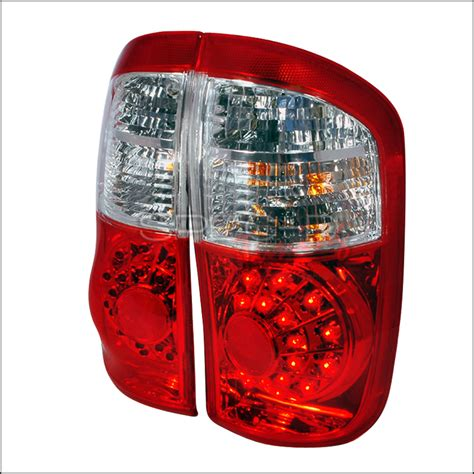 2006 toyota tundra tail light 2000 2006 toyota tundra led tail lights red double cab