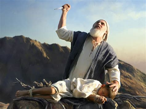 did abraham kill his son isaac a woman looks at the bible