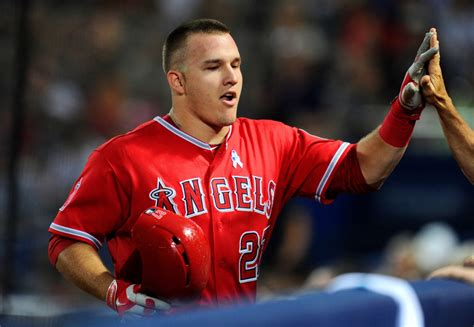cool baseball haircuts mike trout is off to the best start to a career of anyone