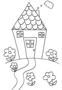 coloriages des maisons du monde t 234 te 224 modeler