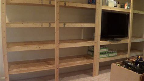 building pantry storage shelves youtube