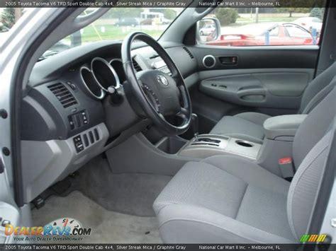 2005 Tacoma Interior by Graphite Gray Interior 2005 Toyota Tacoma V6 Trd Sport