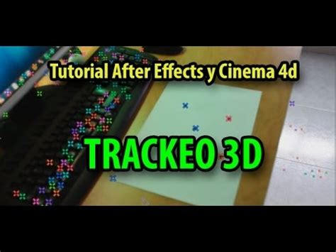 Tutorial After Effects Cinema 4d | tutorial after effects y cinema 4d trackeo y realidad