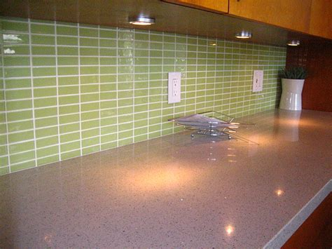 glass tile backsplash for kitchen green glass tiles for kitchen backsplashes to your home