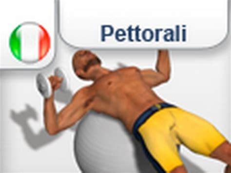 esercizi pettorali interni 3d instruzioni per esercizio quot chest press su sb quot per