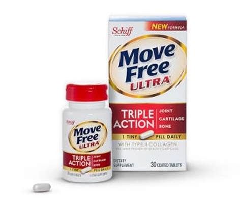 Suplemen Move Free move free ultra uc ii collagen and hyaluronic acid joint