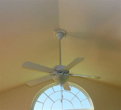 ceiling fans for sloped ceilings installing ceiling fans for vaulted ceilings modern