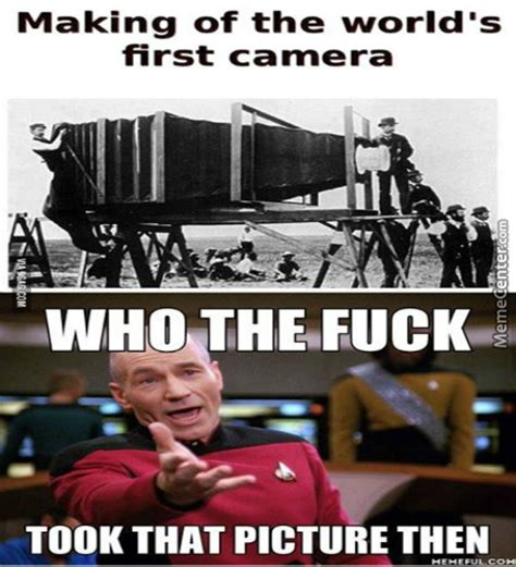 First Meme Ever - worlds first camera wait by streghten meme center