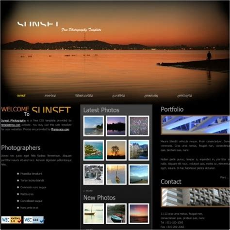 free layout design for websites free html website templates