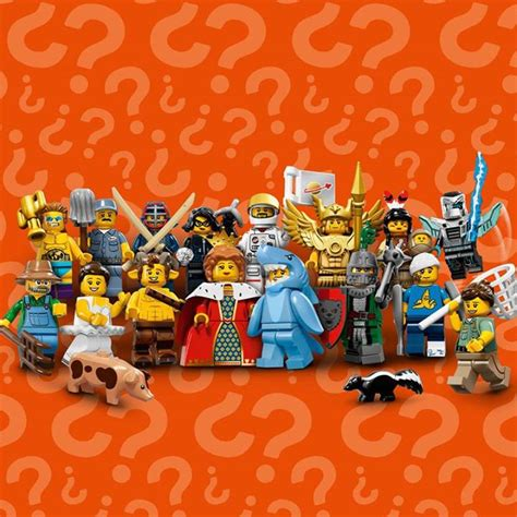 Lego Minifigures Series 12 Complete Set 16 Character wts lego collectable minifigures series 15