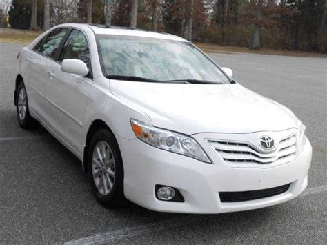 2010 Toyota Camry Xle Toyota Camry Leather Interior Mitula Cars
