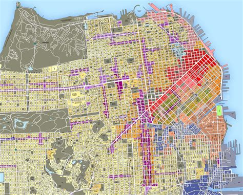san jose land use map zoning laws in new york san francisco and san jose cut