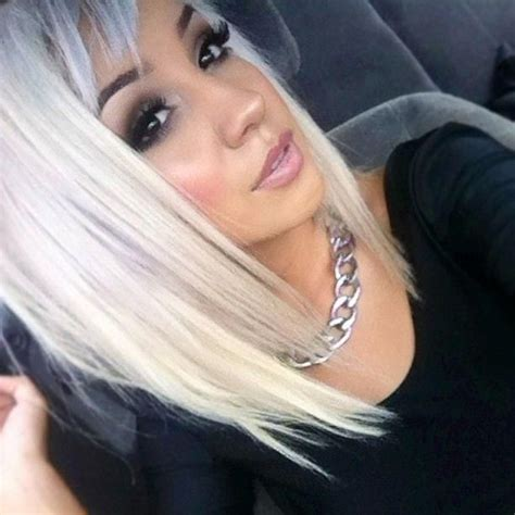 long angled bob only i would want it slightly longer in 15 bob haircuts that will make you want to cut your mane