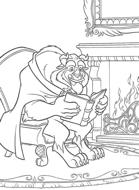 belle reading coloring pages 88 best images about hobby colouring pages belle on