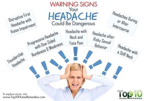 And Migraines Is It In Your by 10 Warning Signs Your Headache Could Be Dangerous Top 10