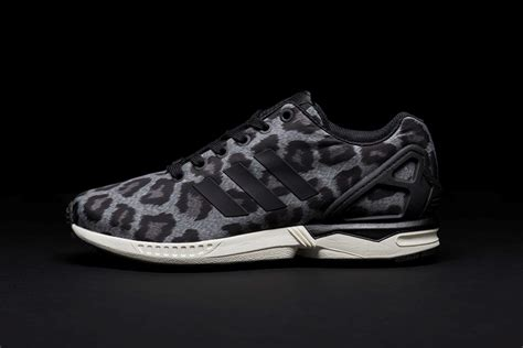 leopard sneakers adidas discount on womens adidas zx flux snow leopard print