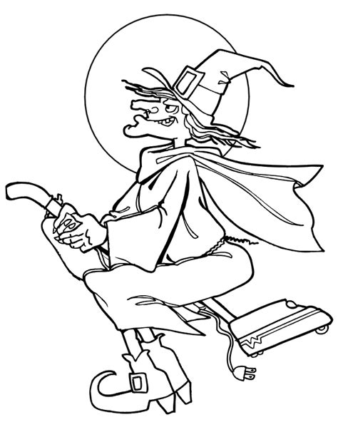 printable coloring pages witch free printable witch coloring pages for kids