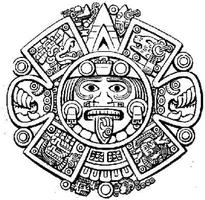Calendario Y Azteca El Mismo Mitologiamericana Julio 2010