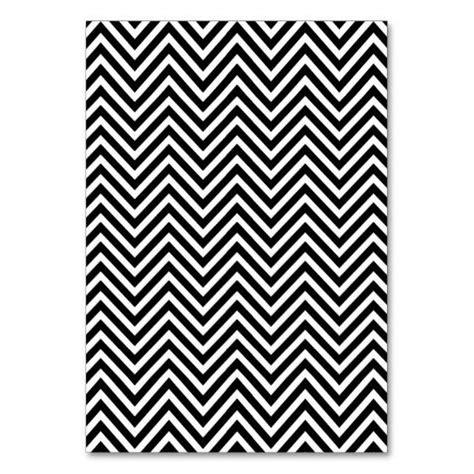black and white chevron pattern black and white chevron pattern 2 table card