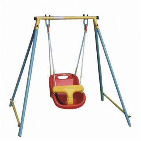 swing set for baby baby s swing set with safe seat global sources