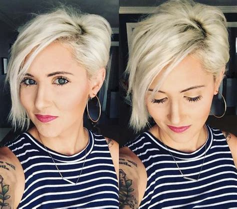 two toned asymetric bobs for black women pintrest 50 pixie haircuts every woman should see style skinner