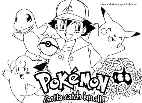 coloring pages of pokemon characters coloring pages