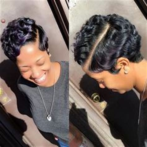 black short hair styles stacked freeze curls flips 20 african american short pixie haircuts 2018 pixie