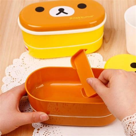 Fukorou 2 Layer Lunch Box 2 layer lunchbox kgspot