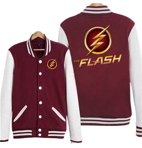 Hoodie Zipper The Flash Logo buy the flash costume the flash costume timecosplay