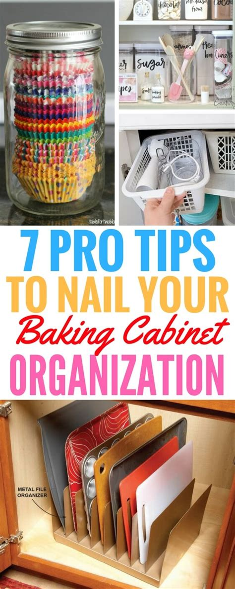 baking cabinet organization 7 pro tips to nail your baking cabinet organization