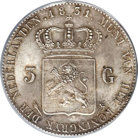 Calendrier 3 Provinciale Luxembourg 3 Gulden Pays Bas Numista