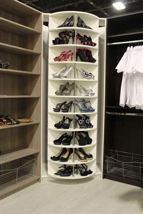 corner shoe storage innovative closet system a come true for small