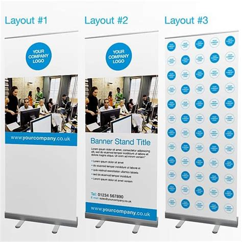 design a banner stand exhibition design london pop up display and banner stands