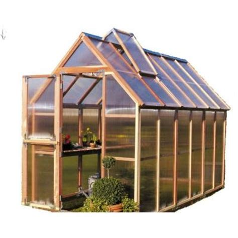 Home Depot Greenhouse by Gardenhouse 6 Ft X 12 Ft Greenhouse Gkp612
