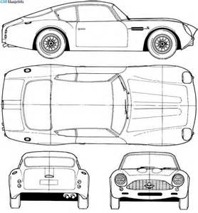 Aston Martin Db5 Dimensions 266 Best Blueprints And Drawings Images On