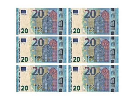 printable paper money 20 euro banknote template free printable papercraft