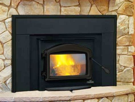 napoleon deluxe epa wood burning fireplace insert complete