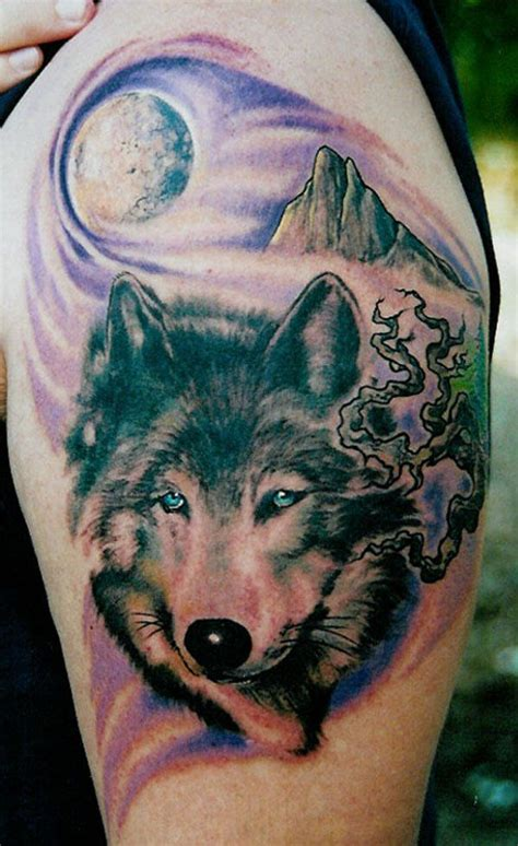 feminine wolf tattoo 17 best ideas about wolf and moon on