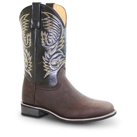 black cowboy boots for square toe s ad tec 174 11 quot square toe western boots black brown