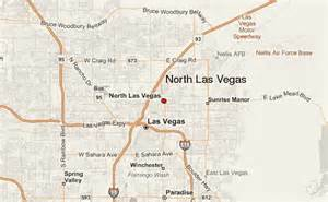 Map Of North Las Vegas by North Las Vegas Location Guide