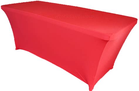 spandex table cover 8 ft rectangular spandex table covers