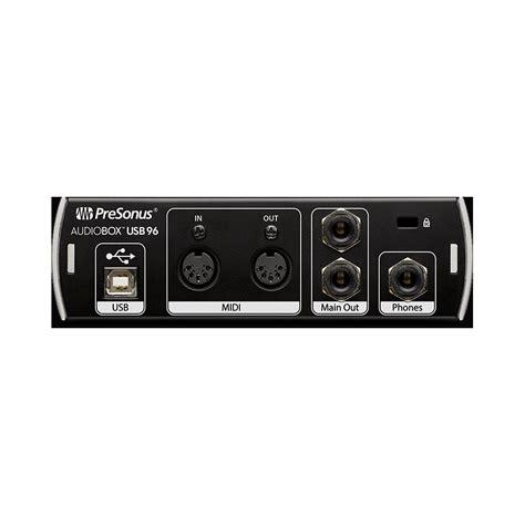 Audio Box Usb presonus audiobox usb 96 171 audio interface
